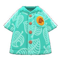 Green Nook Inc. aloha shirt