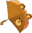bear umbrella