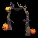 Recipe: spooky arch